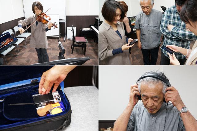 ソニー HDR-MV1 宮地楽器 MUSIC JOY お茶の水 タンゴヴァイオリンクラスのみなさん