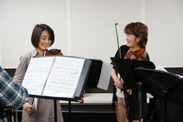 宮地楽器 MUSIC JOY お茶の水 タンゴヴァイオリンクラスのみなさん