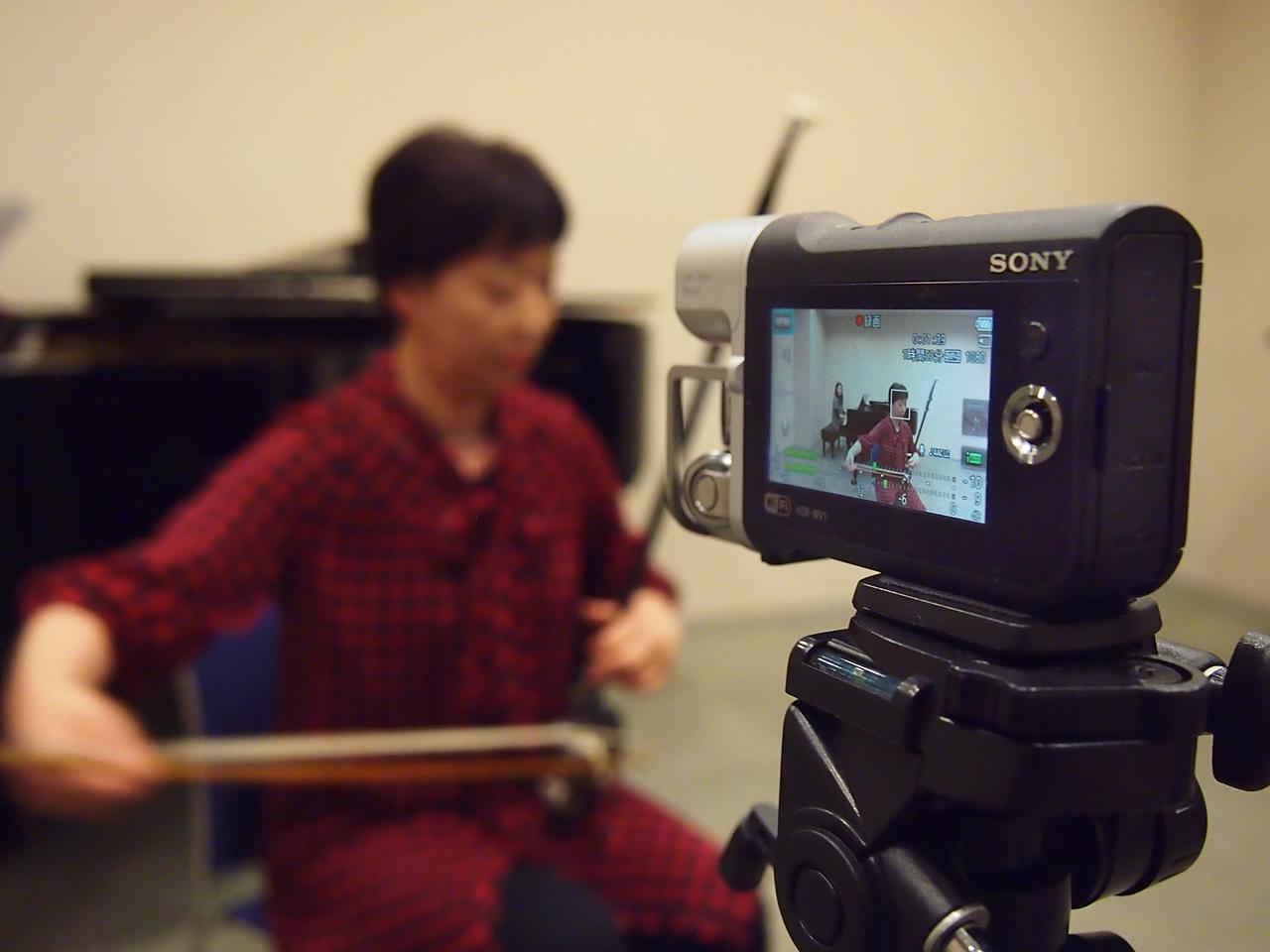 親子アンサンブルでミュージックビデオレコーダーを試してみました