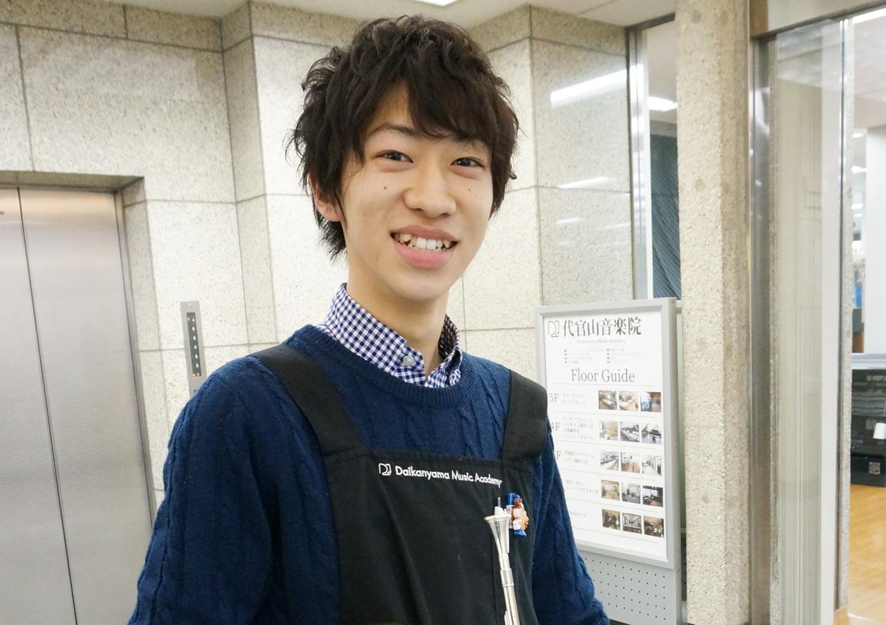 管楽器リペア科・2年生の橋本弘太郎さん|島村楽器テクニカルアカデミー 管楽器リペア科