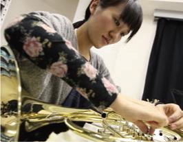 横川 藍|島村楽器テクニカルアカデミー・卒業生|島村楽器テクニカルアカデミー 管楽器リペア科