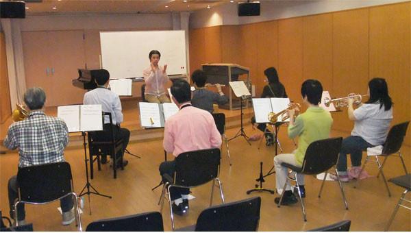 宮地楽器八王子大人の吹奏楽部、トランペット、トロンボーン、サックス、フルート、ホルン大募集!