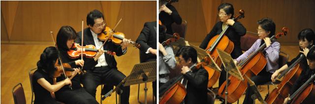 新宿で弦楽アンサンブル。バイオリン、ビオラ、チェロ、コントラバス募集。