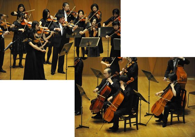 弦楽アンサンブルの演奏会(発表会)。新宿で学ぼう!