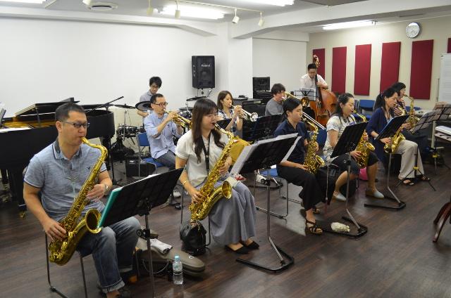 トート音楽院渋谷でビッグバンドをやろう!管楽器大募集!!