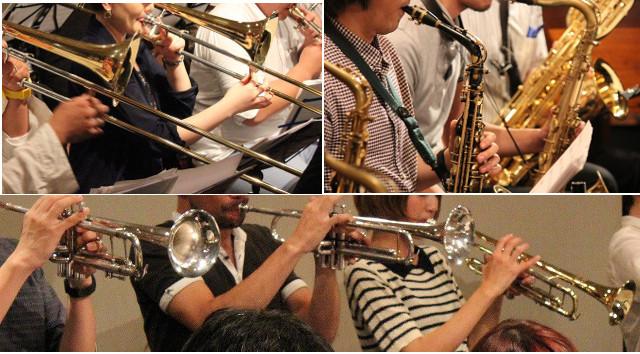 トート音楽院渋谷でビッグバンドをやろう!
