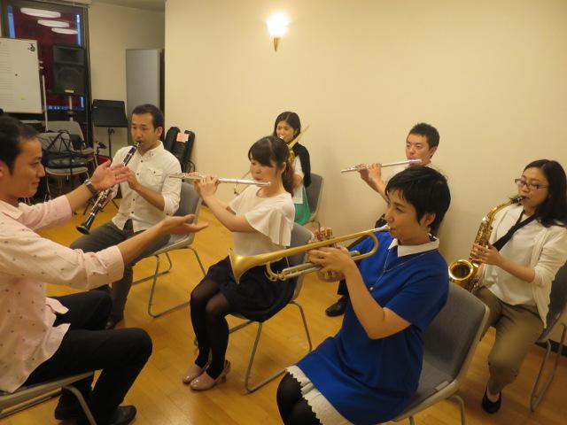 吹奏楽部経験者など、渋谷でウィンドアンサンブルを楽しもう