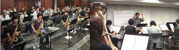 「ビッグバンド部」&「大人の吹奏楽部」