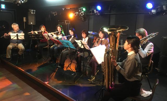 宮地楽器MUSIC JOY神田ウィンドアンサンブル