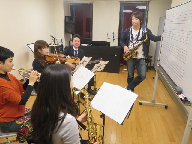 渋谷で大人のジャズ研スタート!サックス・トランペット・バイオリン他、全楽器大募集!