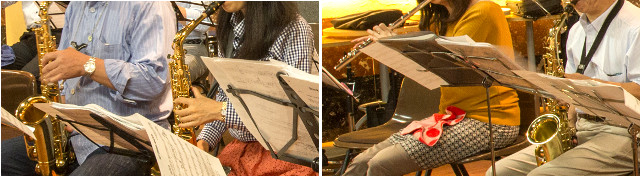 大人のジャズ研、メンバー大募集!トランペット・トロンボーン・サックス・バイオリン、管楽器・弦楽器OKです