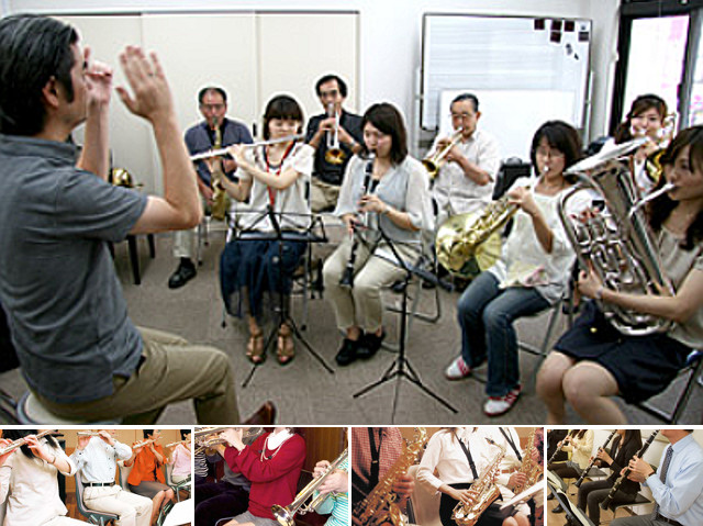 吉祥寺(武蔵野市)で吹奏楽・ウィンドアンサンブル!フルート、トランペット、クラリネット・・・募集中。