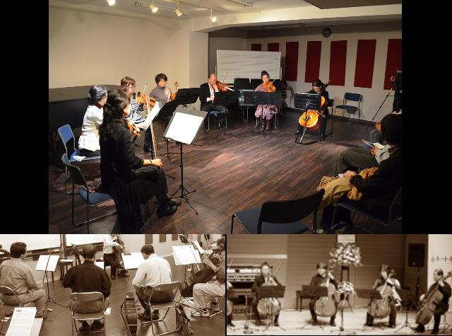 渋谷で弦楽アンサンブルを楽しもう!バイオリン・ビオラ・チェロメンバー大募集!