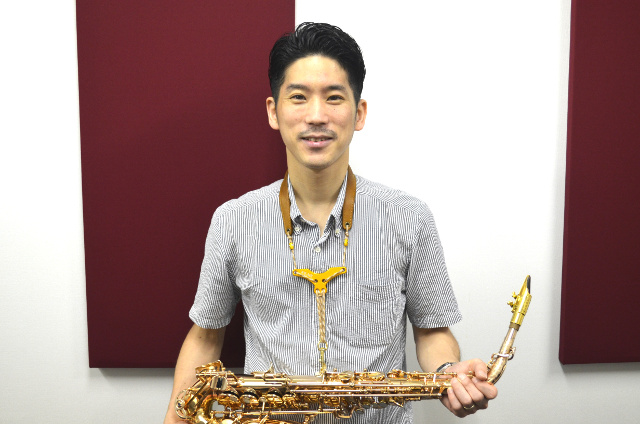 ジャズサックスクラス・山田拓児先生