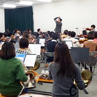 青山学院管弦楽団練習風景
