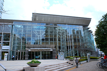 大田区民ホール・アプリコ外観|アプリコみんなの音楽祭2014|大田区文化振興協会