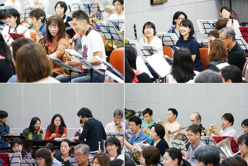 吹奏楽団の合奏の様子|サンバdeブラス2|大田区文化振興協会