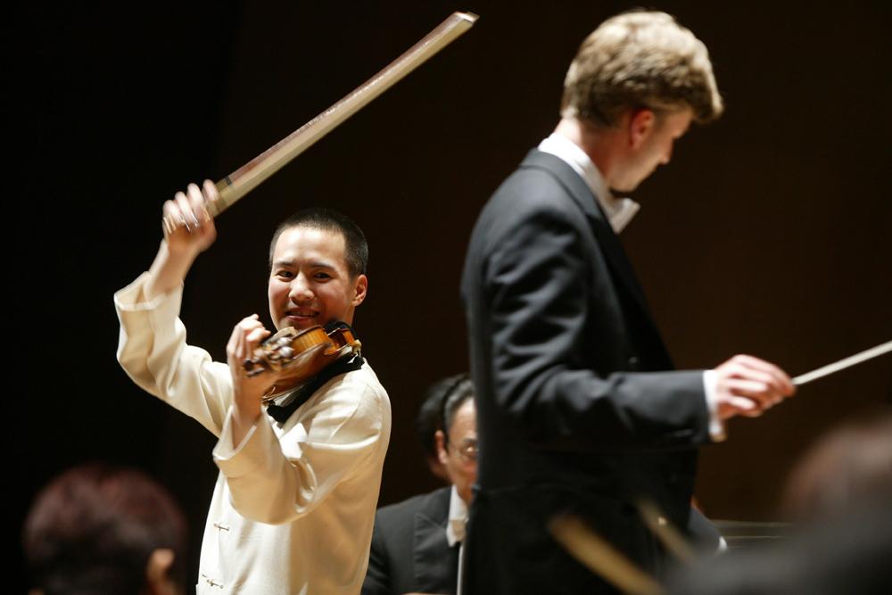ヴァイオリン:ジョセフ・リン