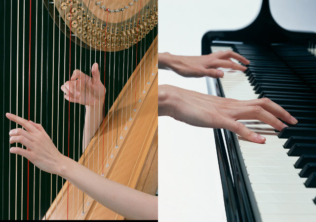 harp+piano